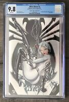 RARE: WHITE WIDOW #1 - ABSOLUTE TYNDALL VIRGIN FOIL EXCLUSIVE - LE 30 - CGC 9.8