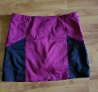 Adidas Womens Size 12  Clima Cool Tennis Golf Skort Skirt Pockets EUC