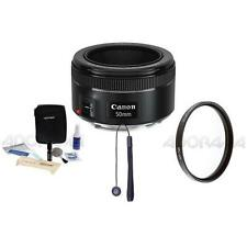 Canon EF 50mm f/1.8 STM Lens, USA Warranty with Free Accessories #0570C002 A