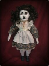 Brown Eye Reproduction Key Creepy Horror Doll by Bastet2329 Christie Creepydolls