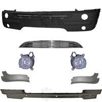Set Stoßstange vorne inkl. Zubehör+Nebel für BMW Mini Typ R50 / R52 / R53 01-04