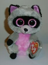 Ty Beanie Boos - ROCCO the Raccoon (6 Inch) MINT with MINT TAGS