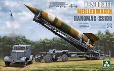 TAKOM V-2 Rocket MeillerWagen Hanomag SS100 Transporter Truck model kit 1/35