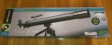 "50x / 100x Refractor Telescope with 4 FT Adjustable Tripod  ""NEW"" BLACK"