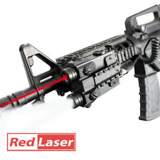 Adjustable Dual Beam Red Laser and Tactical Flashlight Combo for Rifles