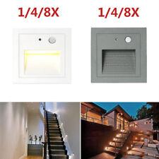 3W LED Wandeinbauleuchte Treppe Boden Einbauleuchte mit Bewegungsmelder 230V
