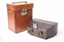 Verographe stereo camera by Philippe Tiranty with Transpar f/6.3-75mm with case.