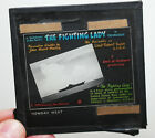 "RARE 1944 EDWARD STEICHEN ""The Fighting Lady"" movie ad glass slide"