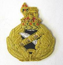 British Army Generals Cap Hat Badge WW2 WWII Kings Crown New Condition Bullion