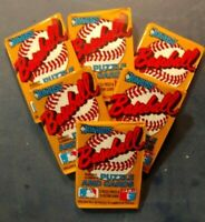 SALE Lot of (6) 1987 Donruss Baseball Unopened Wax Packs Getting harder to find!