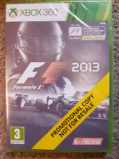 Microsoft Xbox 360 Game F1 Formula 1 2013 Brand New Sealed Promo Version