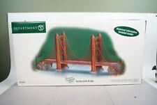 Christmas In The City 59241 Golden Gate Bridge In Original Box