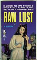Raw Lust by Hi Holborn 1962 Vintage Sleaze PB Tuxedo Books, New Old Stock