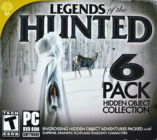 Legends Of The Hunted Hidden Object 6-pack PC Game LN OPEN BOX UNUSED GAME