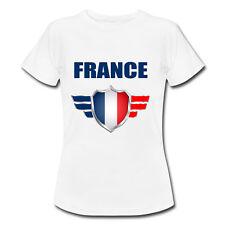 T-shirt Enfant France avec prénom au dos personnalisé - Mondial Football 2018