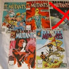 New Mutants U-PICK ONE #61,62,63,64,65,66,67,68 or 69 Marvel PRICED PER COMIC