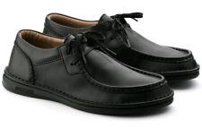 NEW Birkenstock Men's 8 US Pasadena Moc Black Lace Up Shoe Size EU 41 Reg $200!