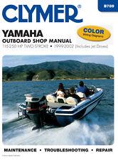 Clymer Yamaha Outboard Shop/Repair Manual, 115-250 HP 2-stroke 1999-2002 (B789)