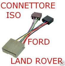 CONNETTORE CAVO ISO AUTORADIO FORD LAND ROVER