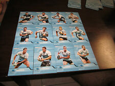 2013 NRL TRADERS CRONULLA SHARKS COMMON TEAM SET 12 CARDS TODD CARNEY GIBBS