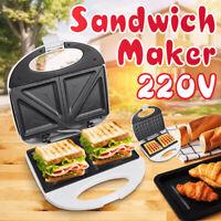 Mini Waffle Maker Non Stick Snack Pancake Cake Breakfast Making Machine 220-240V