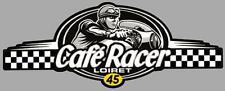 Dept 45  LOIRET - CAFE RACER  bretagne logo sticker