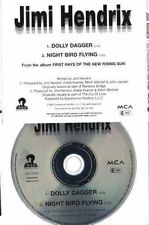 Jimi HENDRIX rare 2 track promotional CD Dolly dagger