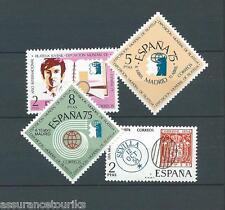 ESPAGNE - 1974 YT 1831 à 1834 - TIMBRES NEUFS** LUXE