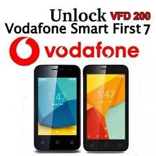 Unlocking Code Vodafone SMART First 7 Vodafone Voda VFD 200, V200 QUICK SERVICE
