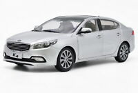 1/18 Scale KIA K4 2014 Silver Diecast Car Model Toy Collection