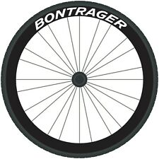 BONTRAGER Decals Road Bike Wheel Rim Stickers Bicycle Race Cycle