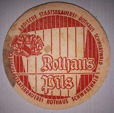 ANCIEN SOUS BOCK - ROTHAUS PILS - BADISCHE STAATSBRAUEREI ROTHAUS