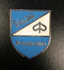"Shield badge ""Piaggio Vespa"" - adhesive back (45mm wide & 58mm tall)"