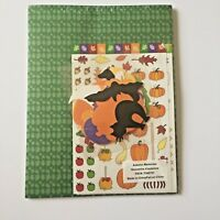 New Seasons Autumn Memories Scrapbook Arts Kit Fall Pumpkins Cats Leaves NEW