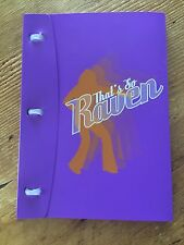 Disney That's So Raven Notebook with Unique Closure lined with Raven Logo