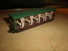 Jouef Eggerbahn HOe M V40 Voiture Balladeuse Decauville    in mint condition