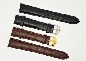 Omega leather watch strap 18mm/19MM/ 20mm Gents Watch Strap, for omega.