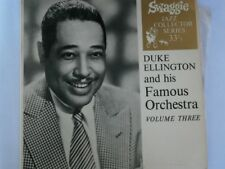 "DUKE ELLINGTON and His Famous Orchestra vol 3 - SWAGGIE JAZZ 33rpm 7"" EP"