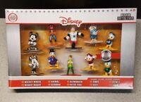 """Disney Nano Metalfigs 1.5"""" Die-Cast Metal Figures NEW Boxed Set of 10 Exclusive"""
