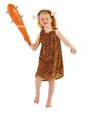 Steinzeit Urmensch Kleid Kinder Kostüm Höhlenmensch Kinderkostüm 3-5 Jahre Gr S
