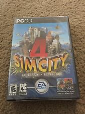 SimCity 4 Deluxe Edition PC 2003 windows simcity 4 + rush hour simulation game