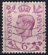 King George VI…6d purple ......SG470