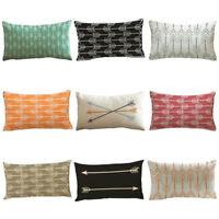 Vintage Arrows Pillow Case Cover Sofa Car Waist Cushion Cover Home Decor Fashion