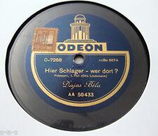 "Nice Price: Dajos Bela - ""Hier Schlager - wer dort?"" 1&2 Teil ODEON 30cm (051)"