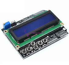 1602 LCD Display Board Keypad Shield Blue Backlight For Arduino LCD Duemilanove