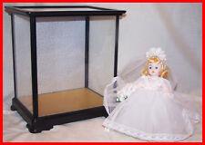 Madame Alexander Blond Bride Doll in glass case