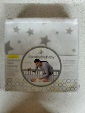 BreathableBaby Classic Patented, Safer, Breathable Mesh Crib Liner - White