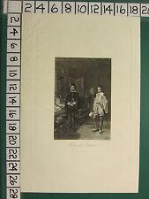 C1840 antiguos impresión ~ Holyrood Palacio Regent Murray & Roland Graeme