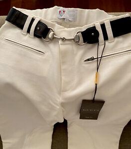 Las Mejores Ofertas En Pantalones De Tamano Regular Gucci Algodon Para Mujeres Ebay