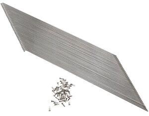 38 Stk.Edelstahl Speichen 2mm Nirosta Fahrradspeichen m.Nippel Silber 80 -300mm
